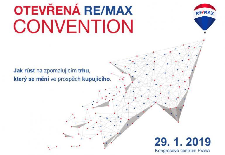Otevřené setkání RE/MAX Convention v lednu