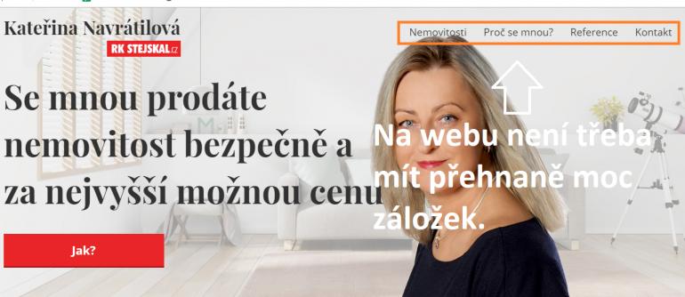 Osobní makléřský web, mít, či nemít?