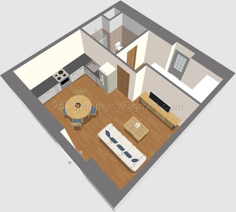 2D půdorys bytu Pro makléře: Jak chytře na půdorys bytu