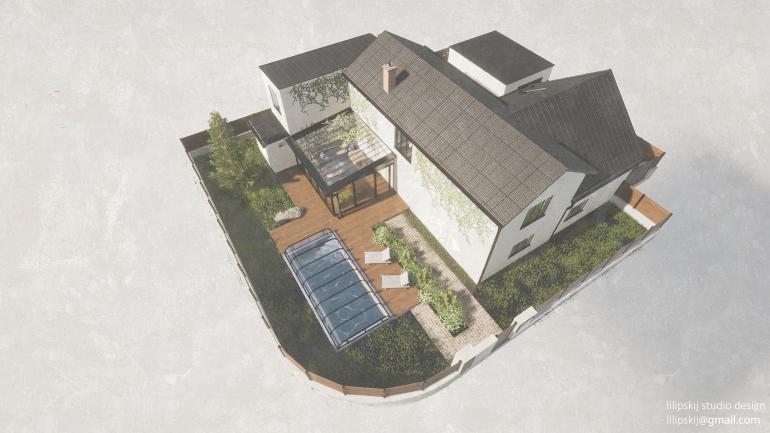 Ukázka vizualizace RD Dolany Virtual Staging ukazuje budoucí potenciál nemovitosti. Kde se vyplatí a na kolik makléře vyjde?