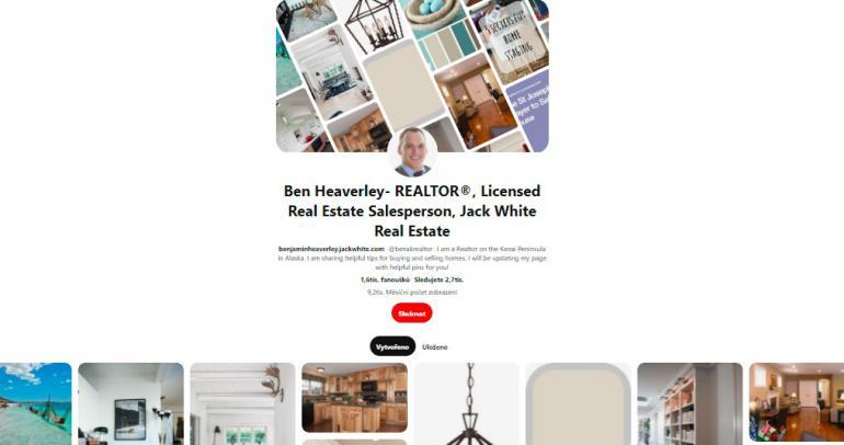 6 nejlepších nástěnek realitních makléřů na Pinterestu - Druhá část (praxe)