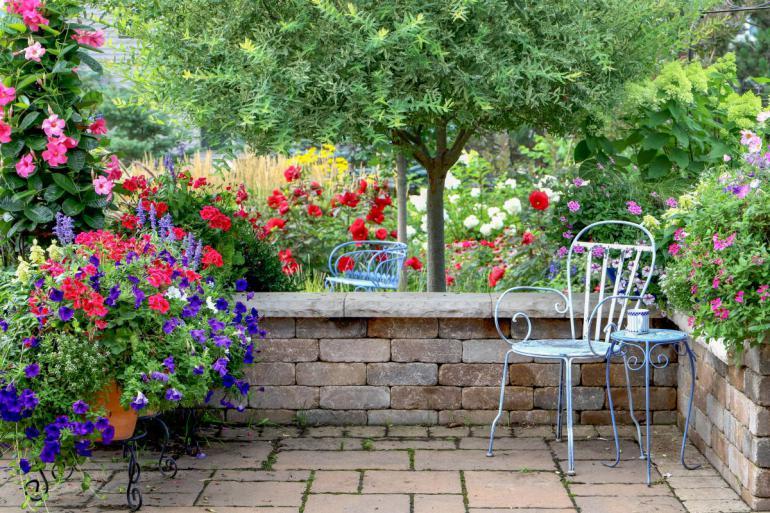 Květiny, kam se podíváte! Marketing pro makléře: na homestaging zahrady se zapomíná! Velká chyba!
