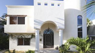Moderní architektura, rodiiný dům.