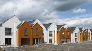 Novostavby rodinných domů.