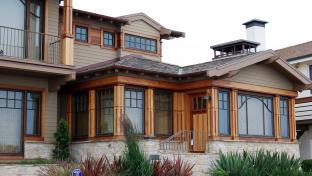 Moderní architektura, rodinný dům.