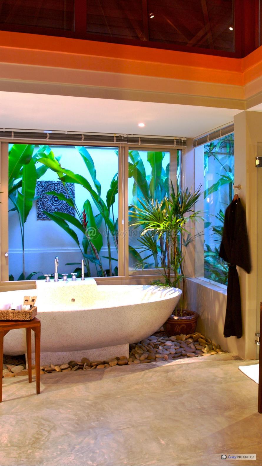 Moderní koupelna.