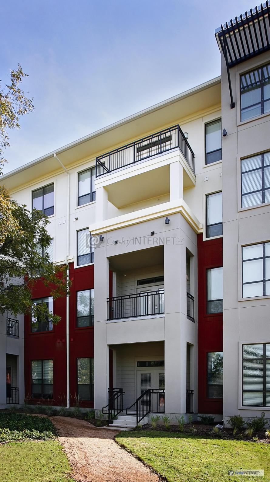 Moderní bytový dům.