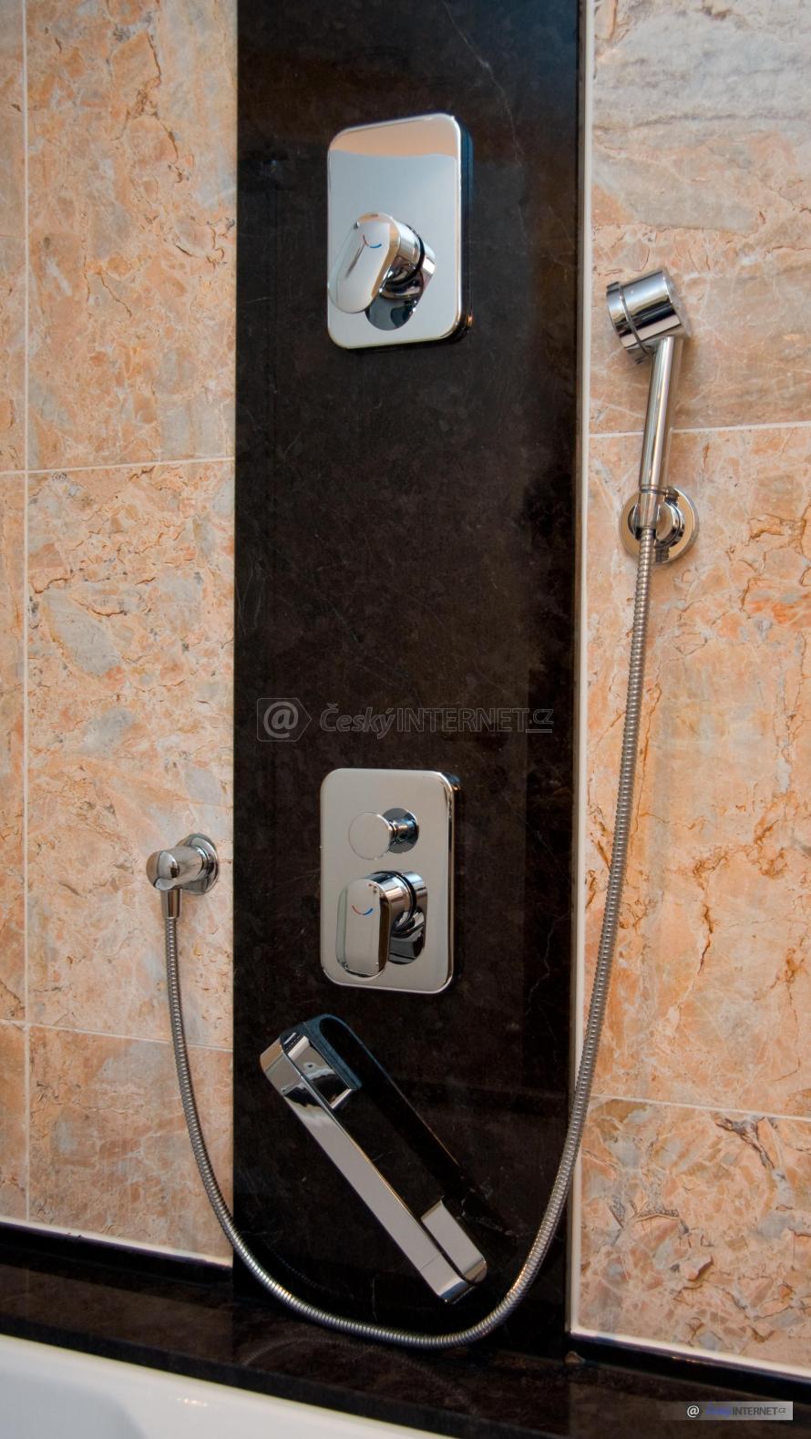 Moderní sprcha.