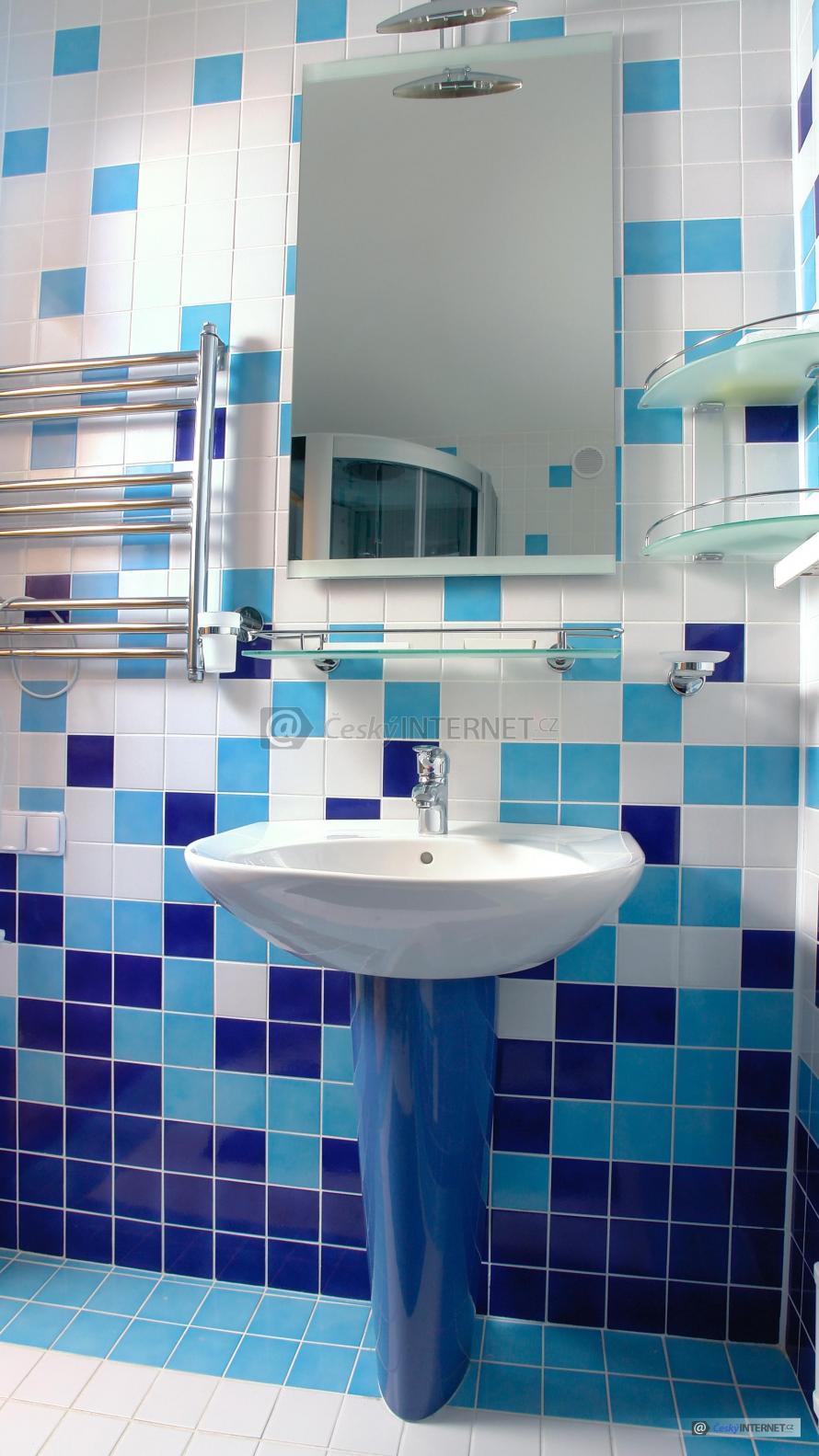 Koupelny, detail umyvadla.