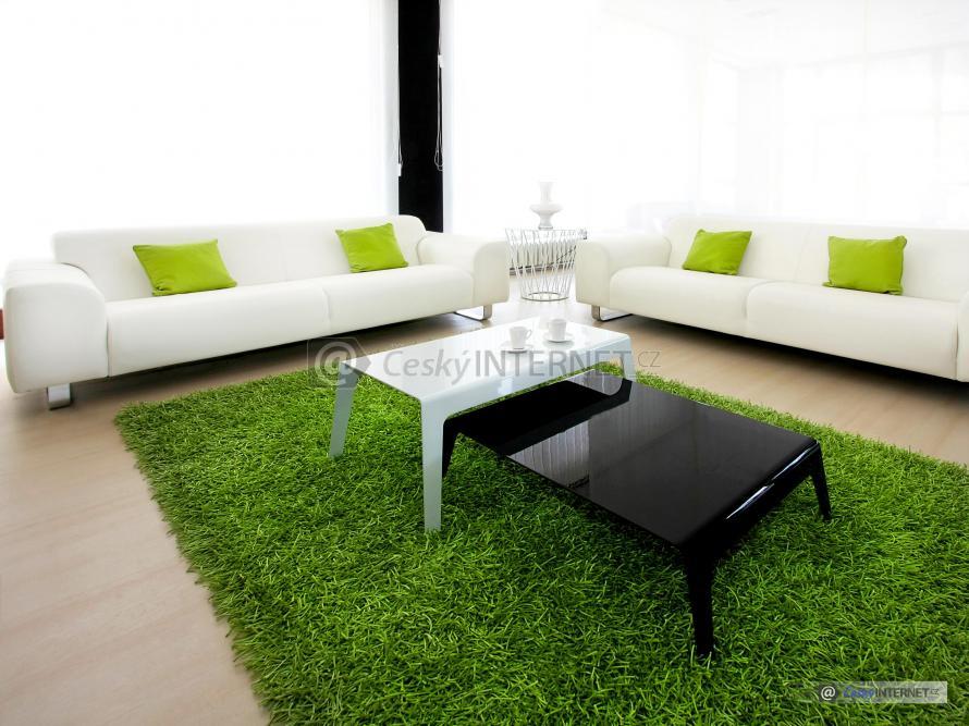 Obývací pokoj, sedací souprava.