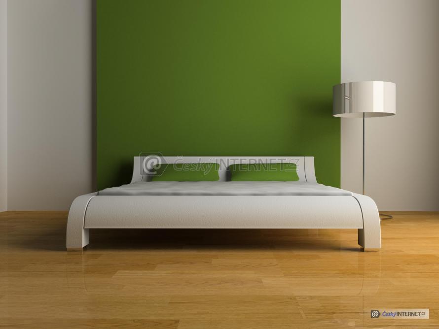 Aranž dvoulůžkové postele.
