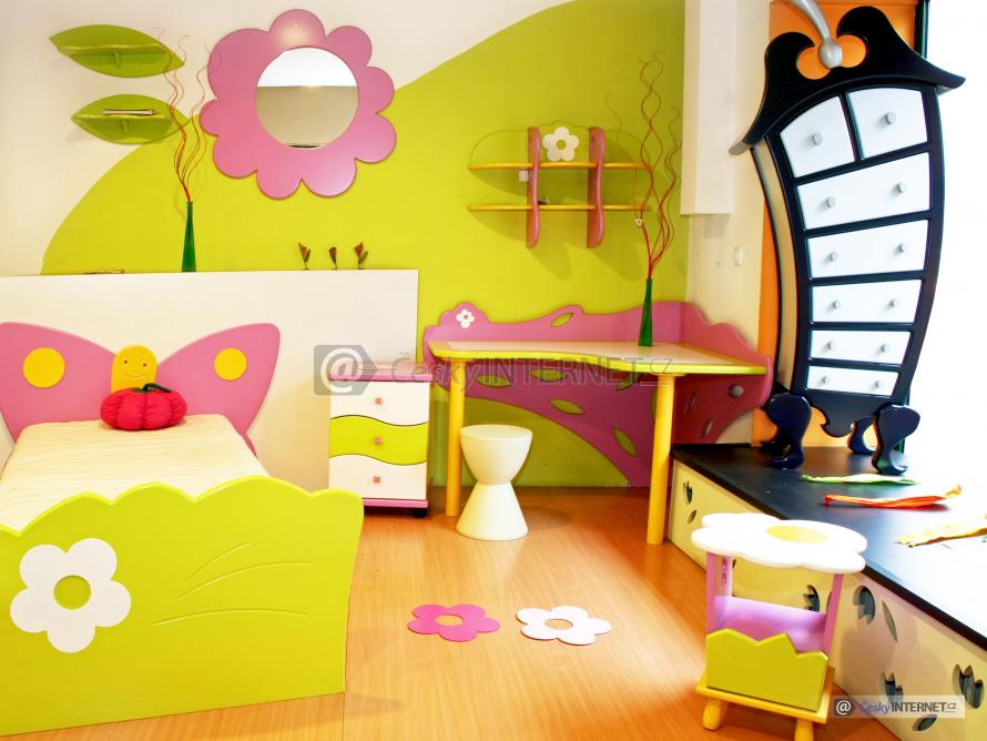 Moderní dětský pokoj,