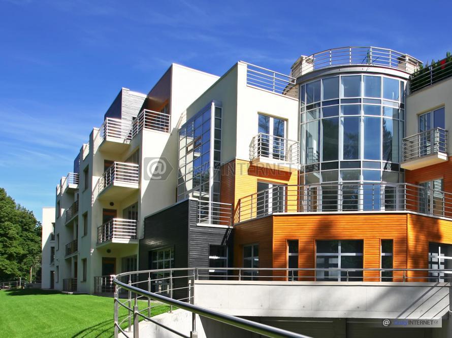 Moderní bytový komplex.