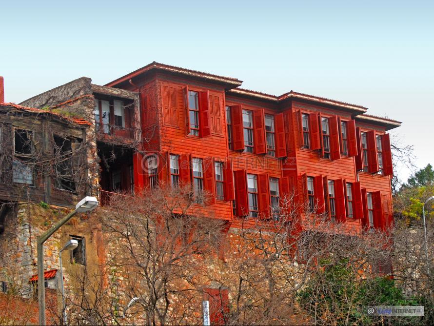 bytový dům v asijském stylu.