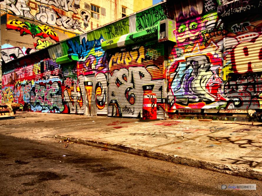 Grafitti.
