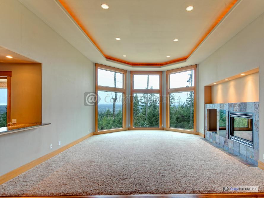 Moderní interiér - detail.
