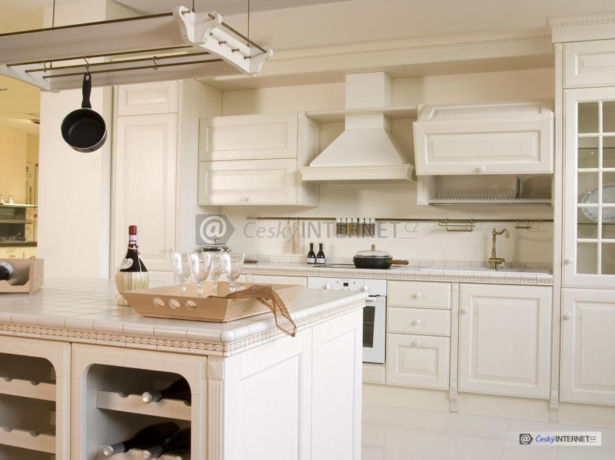 Moderní kuchyně s retro prvky.