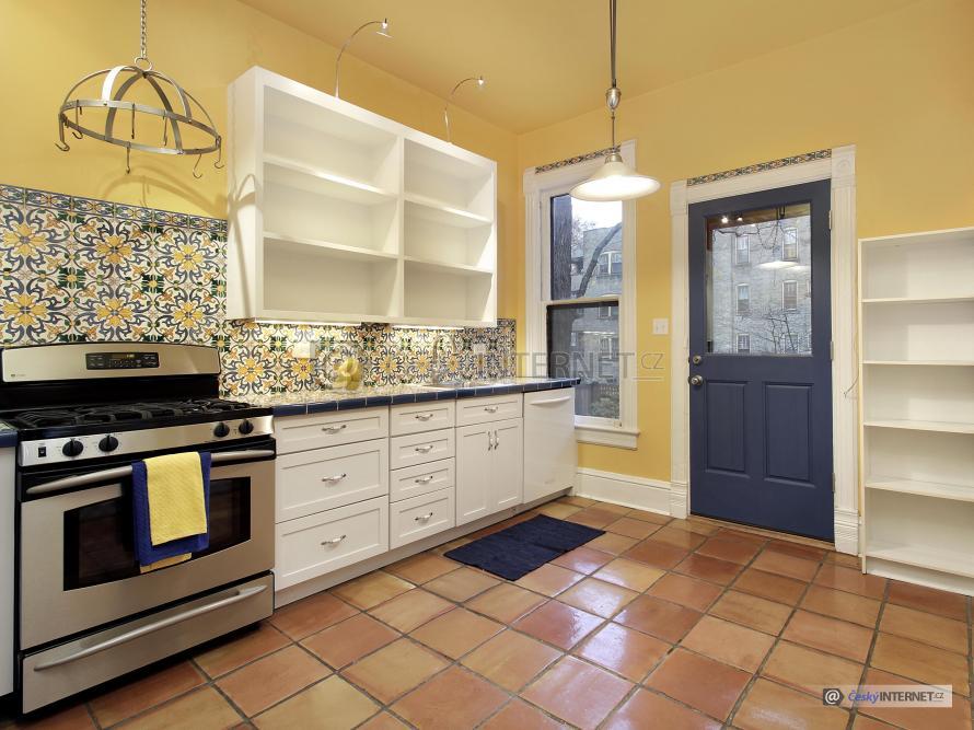 Kuchyně v retro stylu.