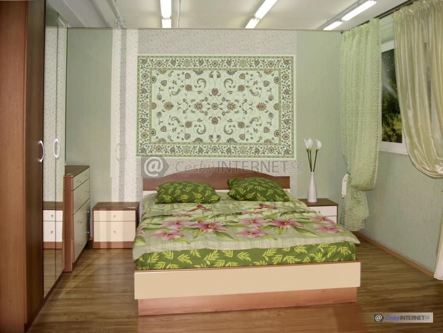 Detail ložnice.