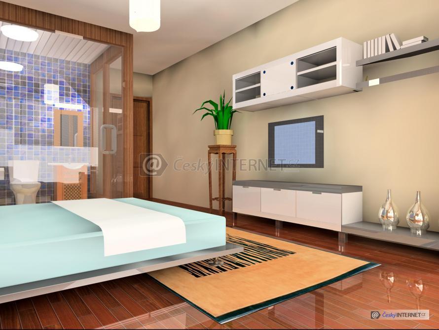 Moderní ložnice.