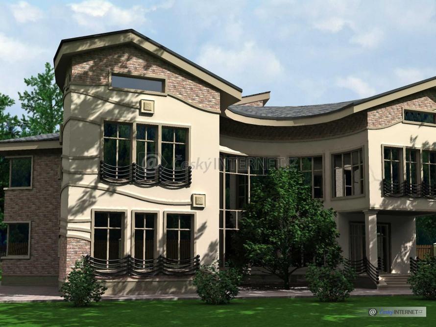 Moderní architektura, rodinné domy.