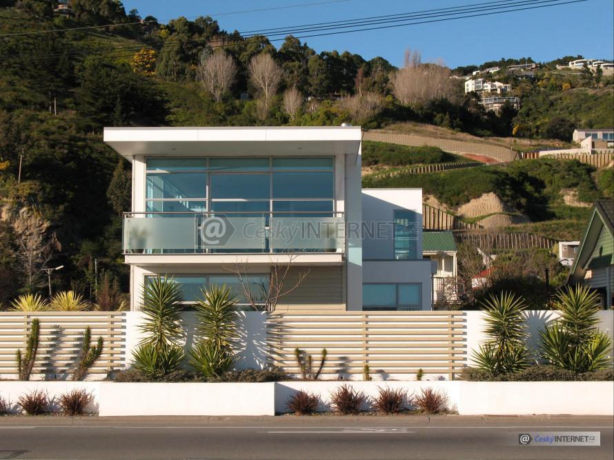Moderní rodinný dům.