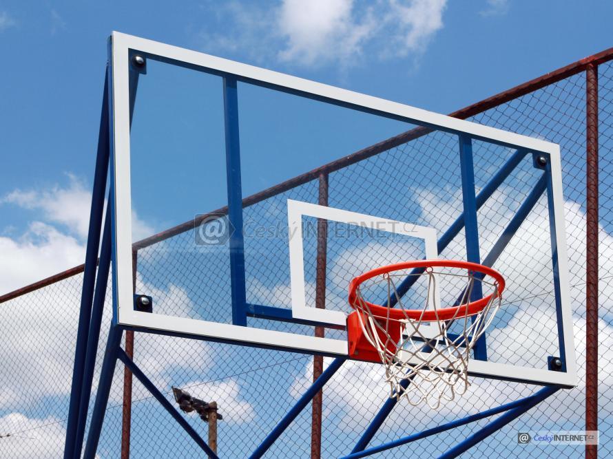 Basketbalový koš.
