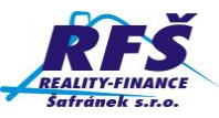 Logo REALITY-FINANCE Šafránek s.r.o.
