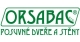 Logo ORSABAC s.r.o.   Posuvné dveře a stěny