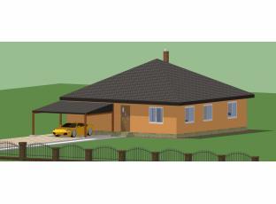 Dvougenerační bungalov projekt