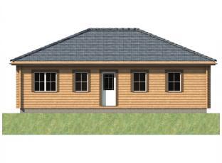 Typový dům | Bungalov 3A roubenka