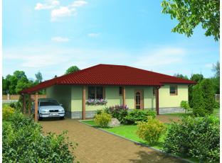 Typový dům | Bungalov na klíč FLORA
