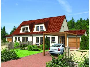 Typový dům | Rodinný dům - dvojdomek CERES