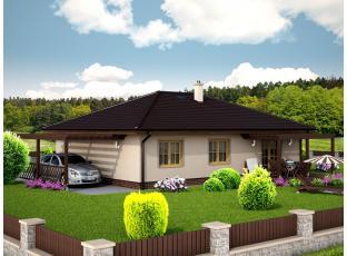 Typový dům | Bungalov HELIOS 15