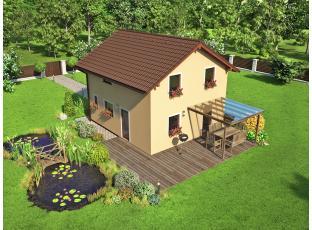 Typový dům | Dům za cenu bytu NEPTUN