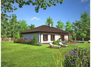 Typový dům | Rodinný dům - bungalov Notos
