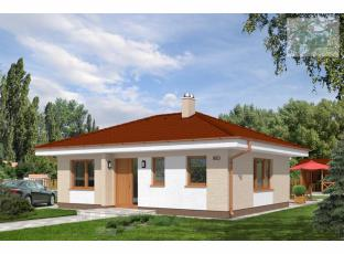 Typový dům | Novostavba nízkoenergetický RD 4+kk