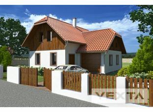 Typový dům | VEXTA 120 Garáž