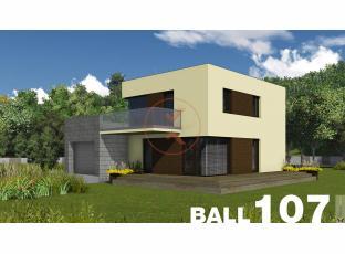 Typový dům | Projekt domu BALL 107