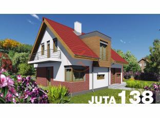 Typový dům | Projekt domu JUTA 138