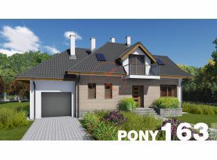 Typový dům | Projekt domu PONY 163