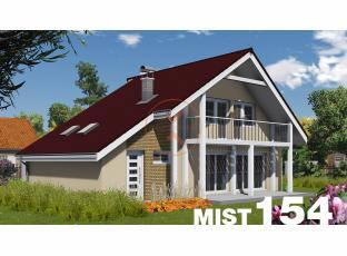 Typový dům | Projekt domu MIST 154