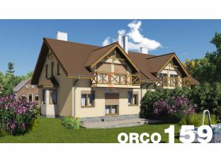 Typový dům | Projekt domu ORCO 159