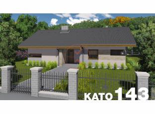 Typový dům | Projekt domu KATO 143