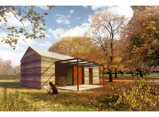 Typový dům | Dřevostavba 10×4m Easy 40