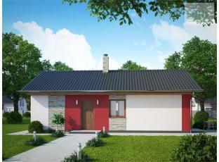 Typový dům | Novostavba nízkoenergetický RD 2+kk