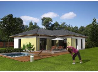 Typový dům   Dřevostavba bungalovu 812